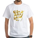Giraffe! White T-Shirt