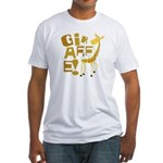 Giraffe! Fitted T-Shirt