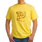 Giraffe! Yellow T-Shirt