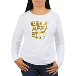 Giraffe! Women's Long Sleeve T-Shirt