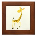 Giraffe! Framed Tile