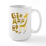 Giraffe! Large Mug