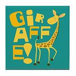 Giraffe! Tile Coaster