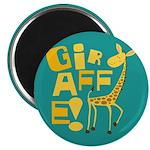 """Giraffe! 2.25"""" Magnet (100 pack)"""