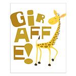 Giraffe! Small Poster