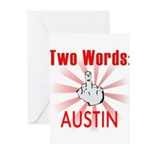 Funny Austin Greeting Cards (Pk of 20)