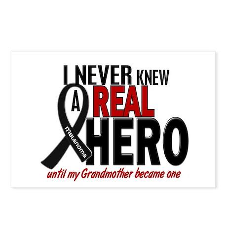 Never Knew A Hero 2 MELANOMA (Grandmother) Postcar