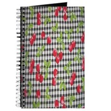 Cherries and Gingham Journal