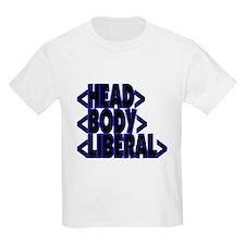 HTML < HEAD BODY LIBERAL > Kids T-Shirt