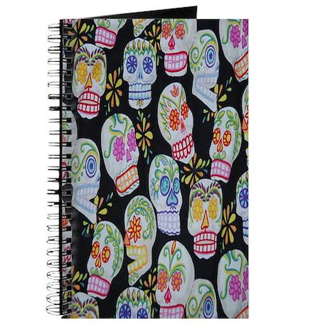 Calavera Skulls Journal