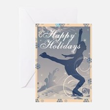 Holiday Skater Greeting Cards (Pk of 20)