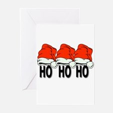 Ho Ho Ho Greeting Cards (Pk of 10)
