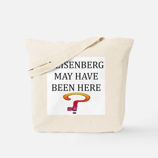heisenberg physics Tote Bag