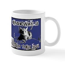 Hemingway Rules Small Mug