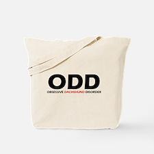 Obsessive Dachshund Tote Bag