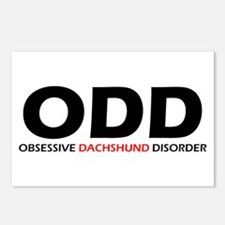 Obsessive Dachshund Postcards (Package of 8)