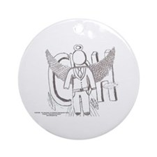 Holiday Artist Braden Williamson Ornament (Round)