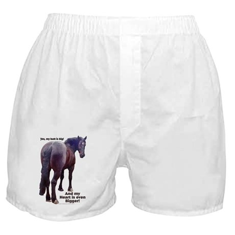 Big Butt Percheron Boxer Shorts