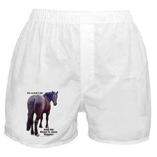 Big Butt Percheron Boxer Shorts