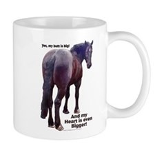 Big Butt Percheron Mug
