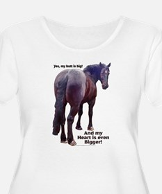 Big Butt Percheron T-Shirt