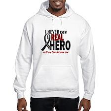 Never Knew A Hero 2 MELANOMA (Son) Jumper Hoody
