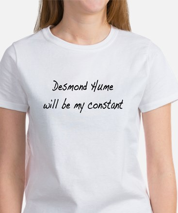 Desmond Hume Will Be My Constant Women's T-Shirt