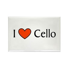 Cello Gift Rectangle Magnet