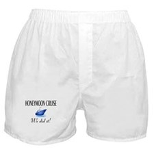 Honeymoon Cruise Boxer Shorts