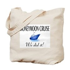 Honeymoon Cruise Tote Bag
