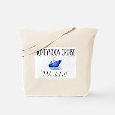 Honeymoon Cruise Tote Bag