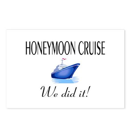 Honeymoon Cruise Postcards (Package of 8)