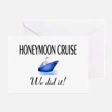Honeymoon Cruise Greeting Card