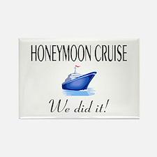 Honeymoon Cruise Rectangle Magnet
