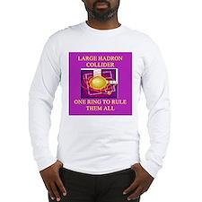 large hadron collider Long Sleeve T-Shirt