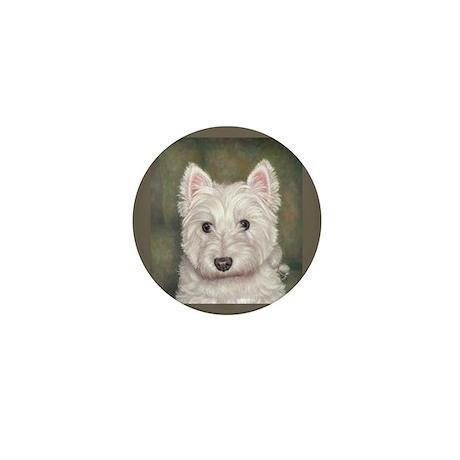 Westie Mini Button