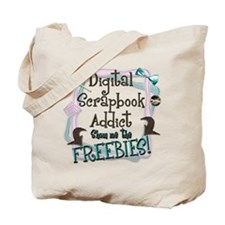 Digital Scrapbook Addict Tote Bag