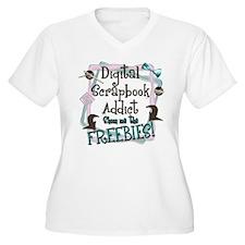 Digital Scrapbook Addict T-Shirt