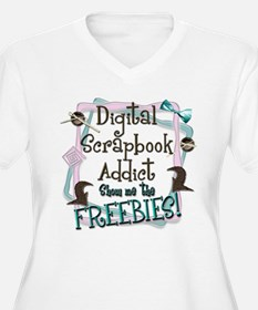 Digital Scrapbook Addict T-Shirt