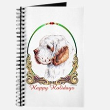Clumber Spaniel Holiday Journal