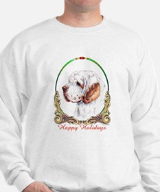 Clumber Spaniel Holiday Jumper