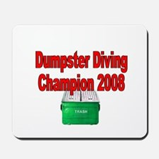 champ 2008 /red Mousepad