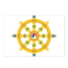Dharmachakra wheel Postcards (Package of 8)