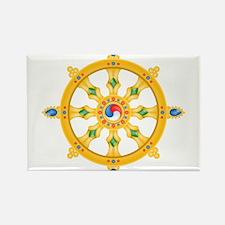 Dharmachakra wheel Rectangle Magnet