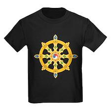 Dharmachakra wheel T