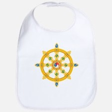 Dharmachakra wheel Bib