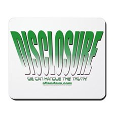 Disclosure Project (green slant) Mousepad