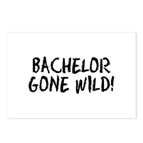 Bachelor Gone Wild Postcards (Package of 8)