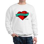 Twilight Alice Heart Tattoo Sweatshirt