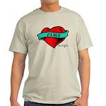 Twilight Alice Heart Tattoo Light T-Shirt